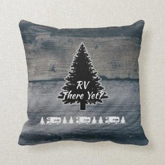 Cojín Decorativo Madera gris rústica divertida del árbol de pino de