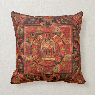 Cojín Decorativo Mandala budista de la compasión