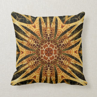 Cojín Decorativo Mandala de la jirafa