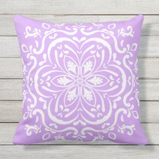 Cojín Decorativo Mandala de la lavanda