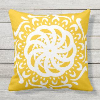 Cojín Decorativo Mandala de la miel