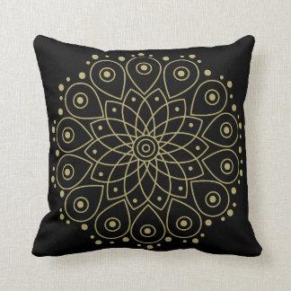 Cojín Decorativo Mandala del oro