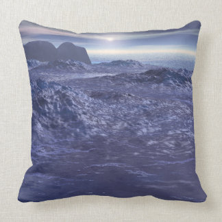 Cojín Decorativo Mar congelado de Neptuno