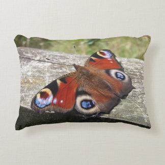 Cojín Decorativo Mariposa de pavo real