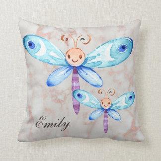 Cojín Decorativo Mariposas azules lindas