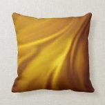 Cojín Decorativo Materia textil blanca de oro del modelo del