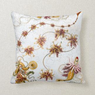 Cojín Decorativo Medusas de Ernst Haeckel Siphonophorae