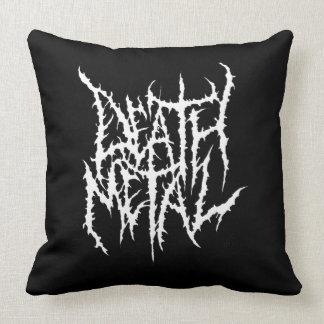 Cojín Decorativo Metal de la muerte