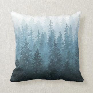 Cojín Decorativo Mi bosque secreto brumoso