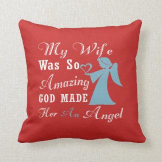 Cojín Decorativo Mi esposa es un ángel