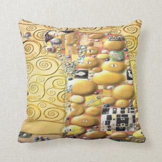 Cojín Decorativo Mi Klimt Serie: Abrazo
