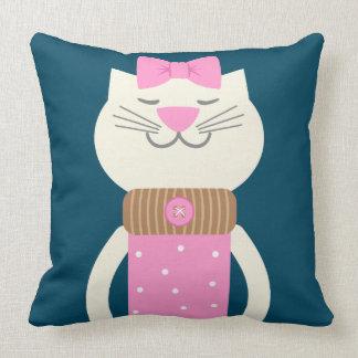 Cojín Decorativo Moda del gato