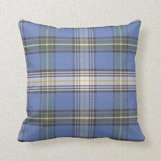 Cojín Decorativo Modelo de la tela escocesa de tartán