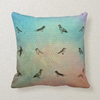 Cojín Decorativo Modelo del pájaro del arco iris