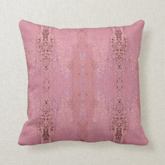 "Cojín Decorativo Modelo del rosa color de rosa de la ""aptitud"""