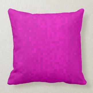 Cojín Decorativo Modelo púrpura de las tejas de mosaico,
