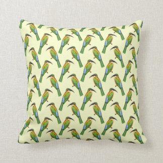Cojín Decorativo Modelo tropical del pájaro del Abeja-comedor