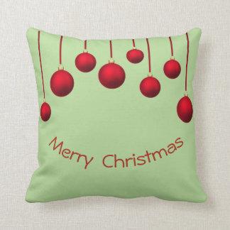 Cojín Decorativo Moderno, fino, bolas del navidad
