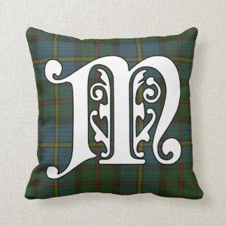 Cojín Decorativo Monograma del tartán del clan de MacLeod