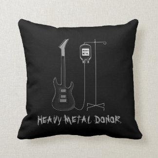 Cojín Decorativo Música dispensadora de aceite de metales pesados