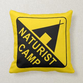 Cojín Decorativo Naturist/nudista