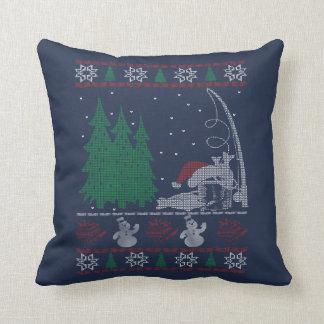 Cojín Decorativo Navidad de la pesca