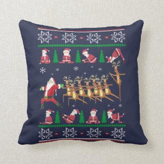 Cojín Decorativo Navidad de la yoga