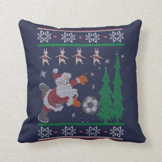 Cojín Decorativo Navidad del fútbol