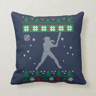 Cojín Decorativo Navidad del softball