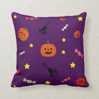 Cojín Decorativo Noche de Halloween. Truco o invitación