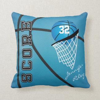 Cojín Decorativo Nombre del baloncesto el | DIY del deporte de los