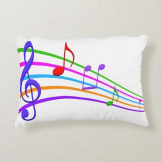 Cojín Decorativo notas de la música