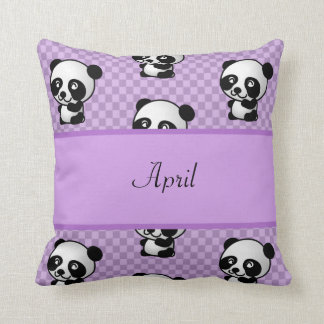 Cojín Decorativo Osos de panda