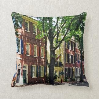 Cojín Decorativo PA de Philadelphia - Sociedad Hill Street