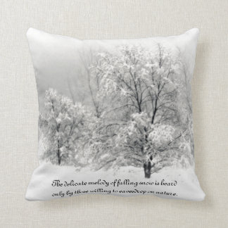 Cojín Decorativo País de las maravillas del invierno