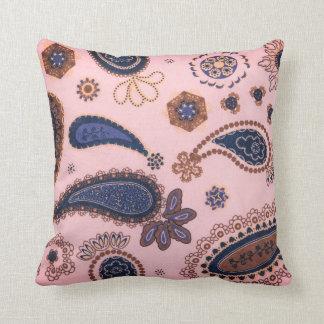 Cojín Decorativo Paisley fresca y de moda