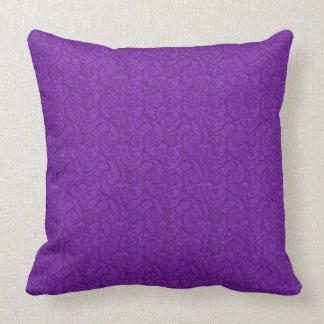 Cojín Decorativo Paisley púrpura