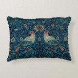Cojín Decorativo Pájaros florales del vintage de William Morris