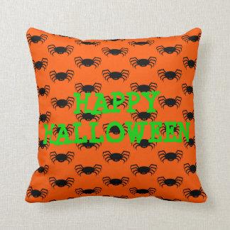 Cojín Decorativo Palos negros en el naranja personalizado