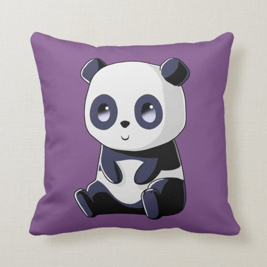 Cojín Decorativo Panda Kawaii
