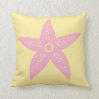 Cojín Decorativo Peces de mar, estrella de mar