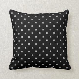 Cojín Decorativo Pequeño modelo geométrico blanco y negro