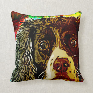 Cojín Decorativo Perro de aguas de saltador inglés