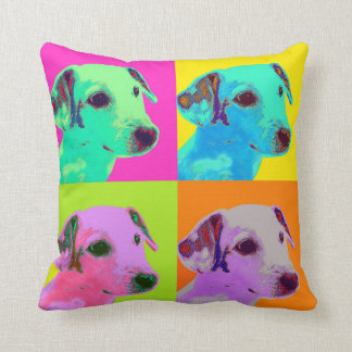 Cojín Decorativo Perro, Jack Russell Terrier. Especie de pop,