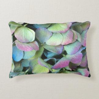 Cojín Decorativo Pétalos multicolores del HYDRANGEA ---