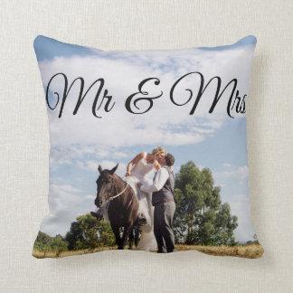 Cojín Decorativo Picture Pillow de Sr. y de señora Personalised