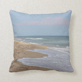 Cojín Decorativo Playa y ondas del océano