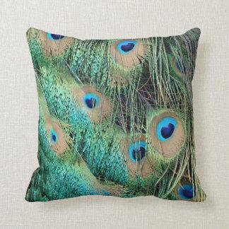 Cojín Decorativo Plumas preciosas del pavo real con nuevo Grouch
