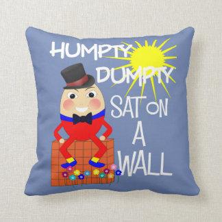 Cojín Decorativo Poesía infantil alegre Humpty Dumpty de la