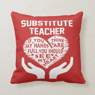 Cojín Decorativo Profesor sustituto